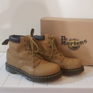 Like New!  Dr Martens, Color is Tan Greasy Suede